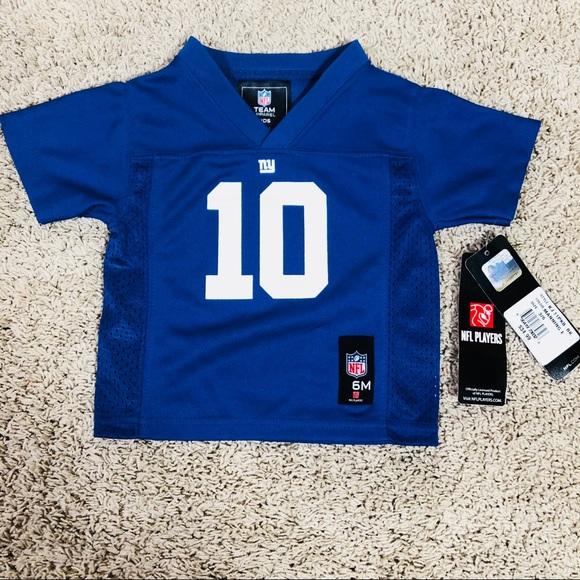75d8c9dd8 Eli Manning NFL Jersey Size 3 6 M